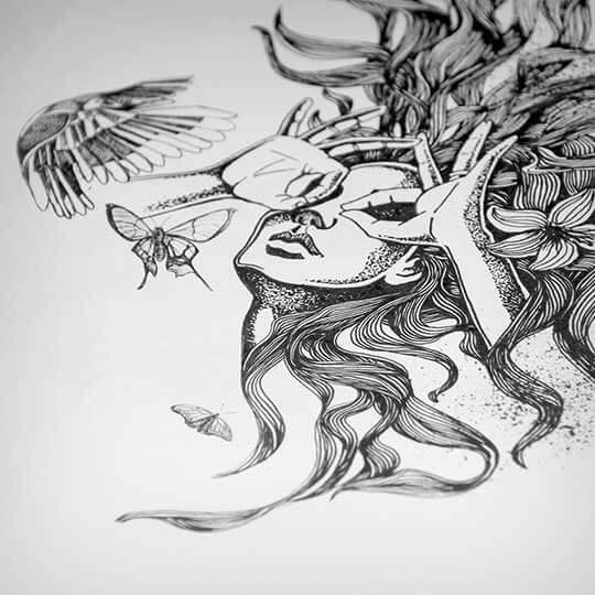 The Vision - Doodle Artwork