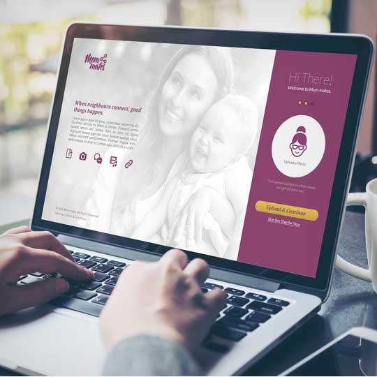 Mommates - User Interface Design
