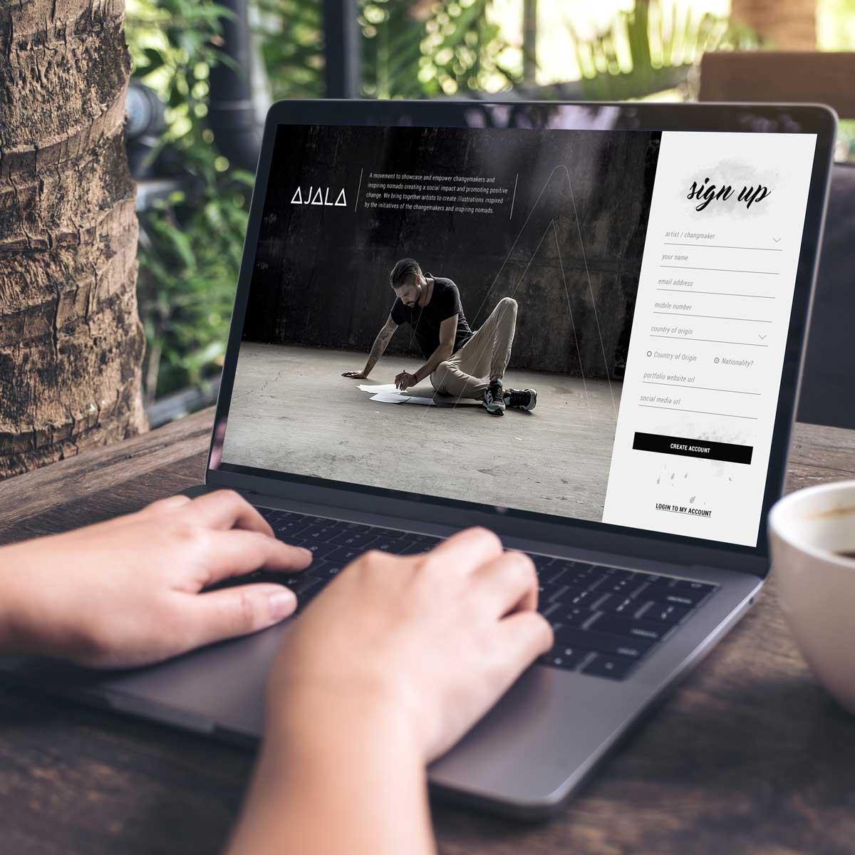 The Ajala Project - User Interface Design