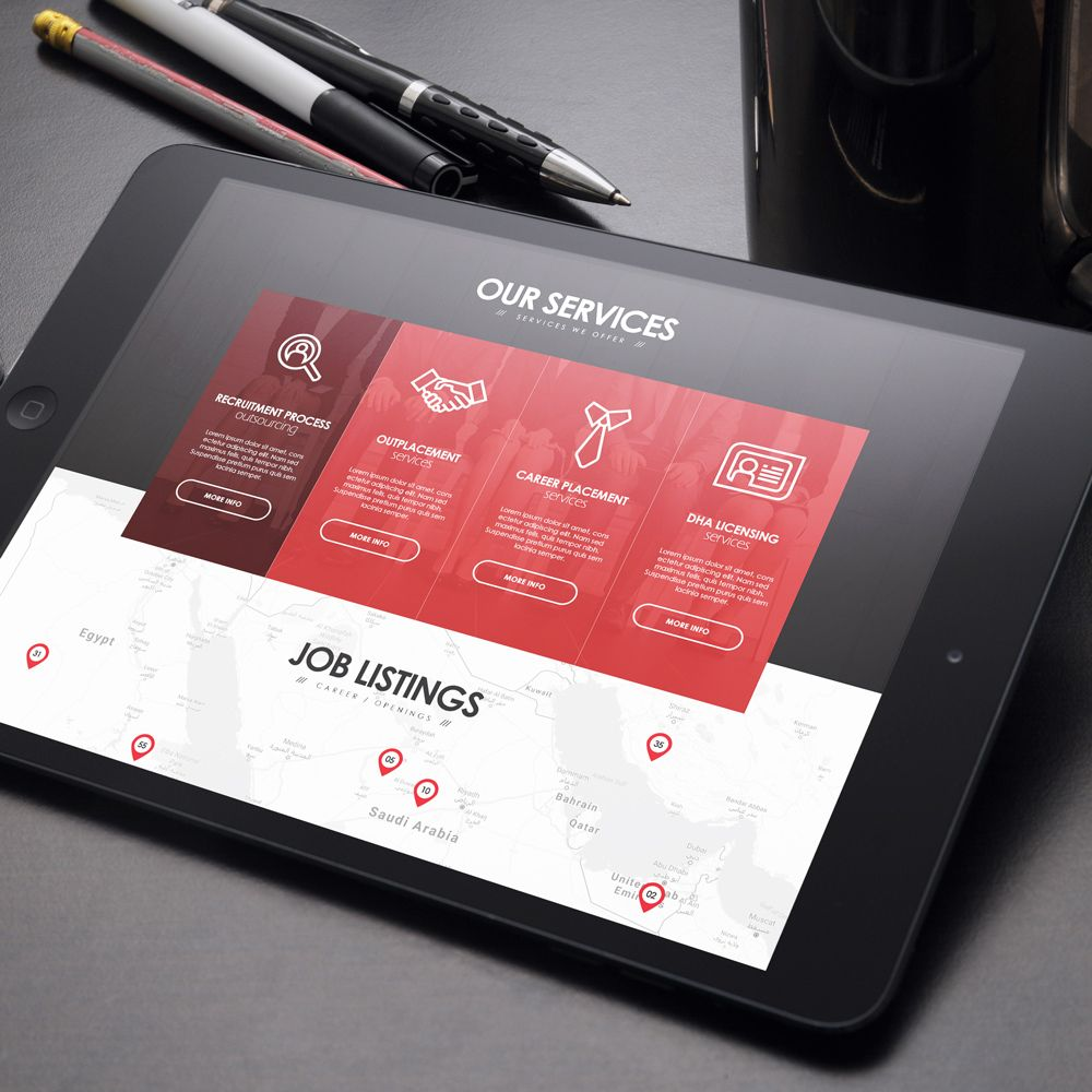 Kinetic Business Solutions - User Interface Design