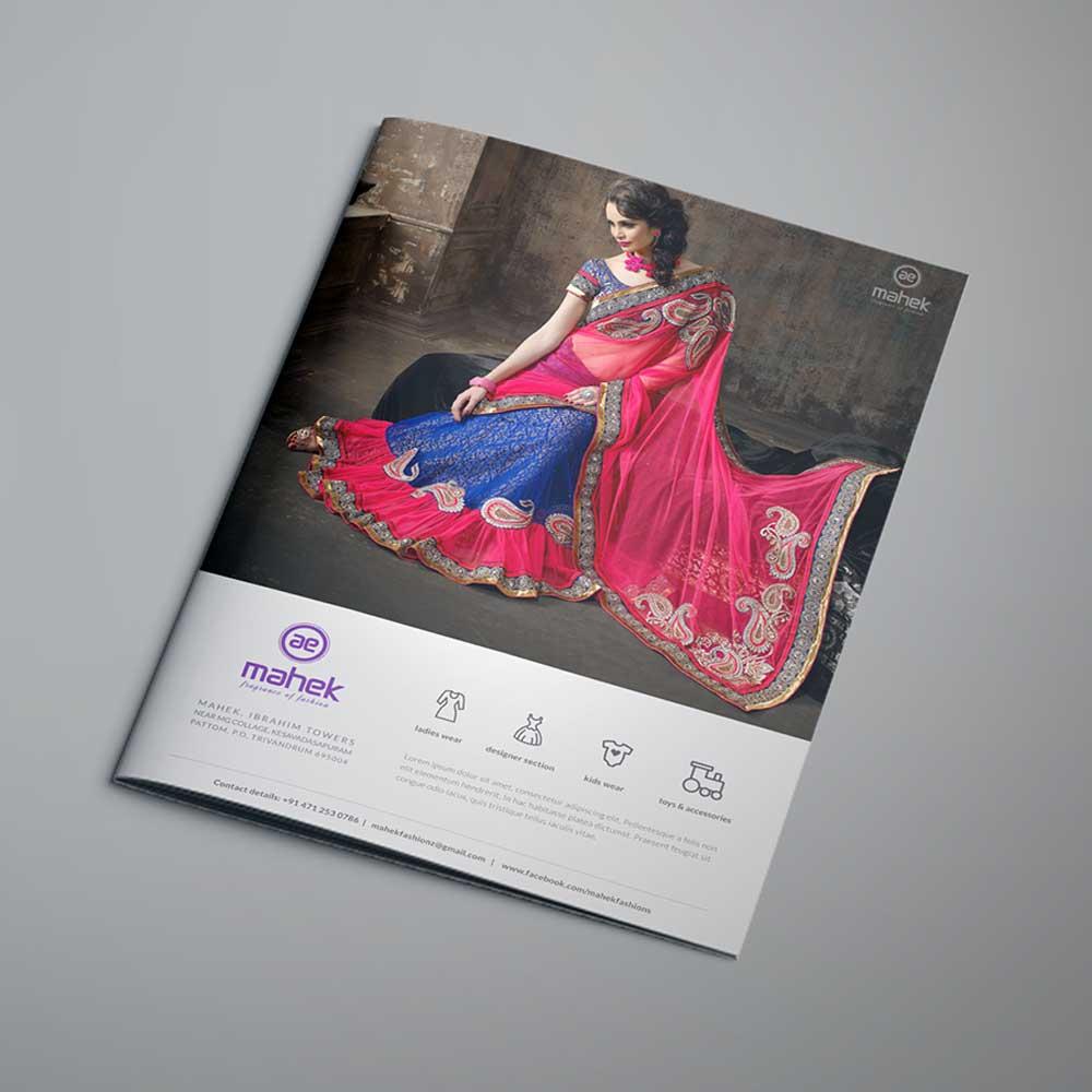 Mahek – Branding & Brochure