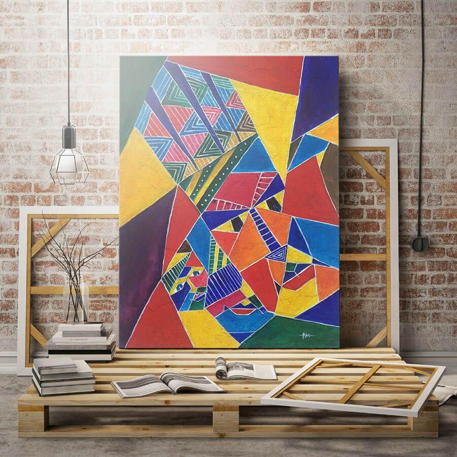 Mystery Acrylic Painting
