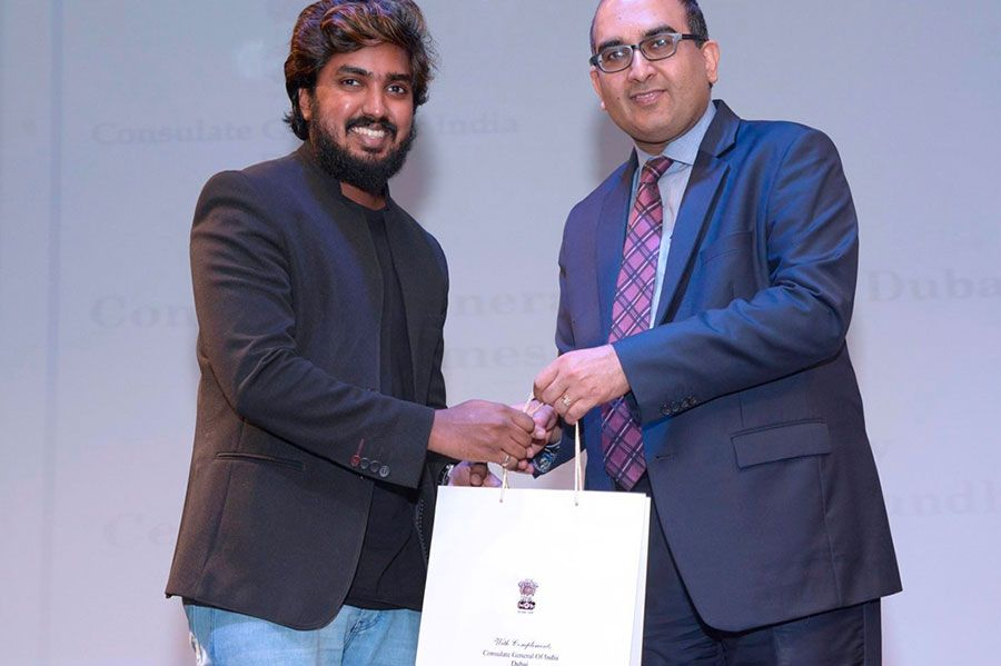 150th Gandhi Jayathi, 2019 by Indian Consulate Dubai, UAE