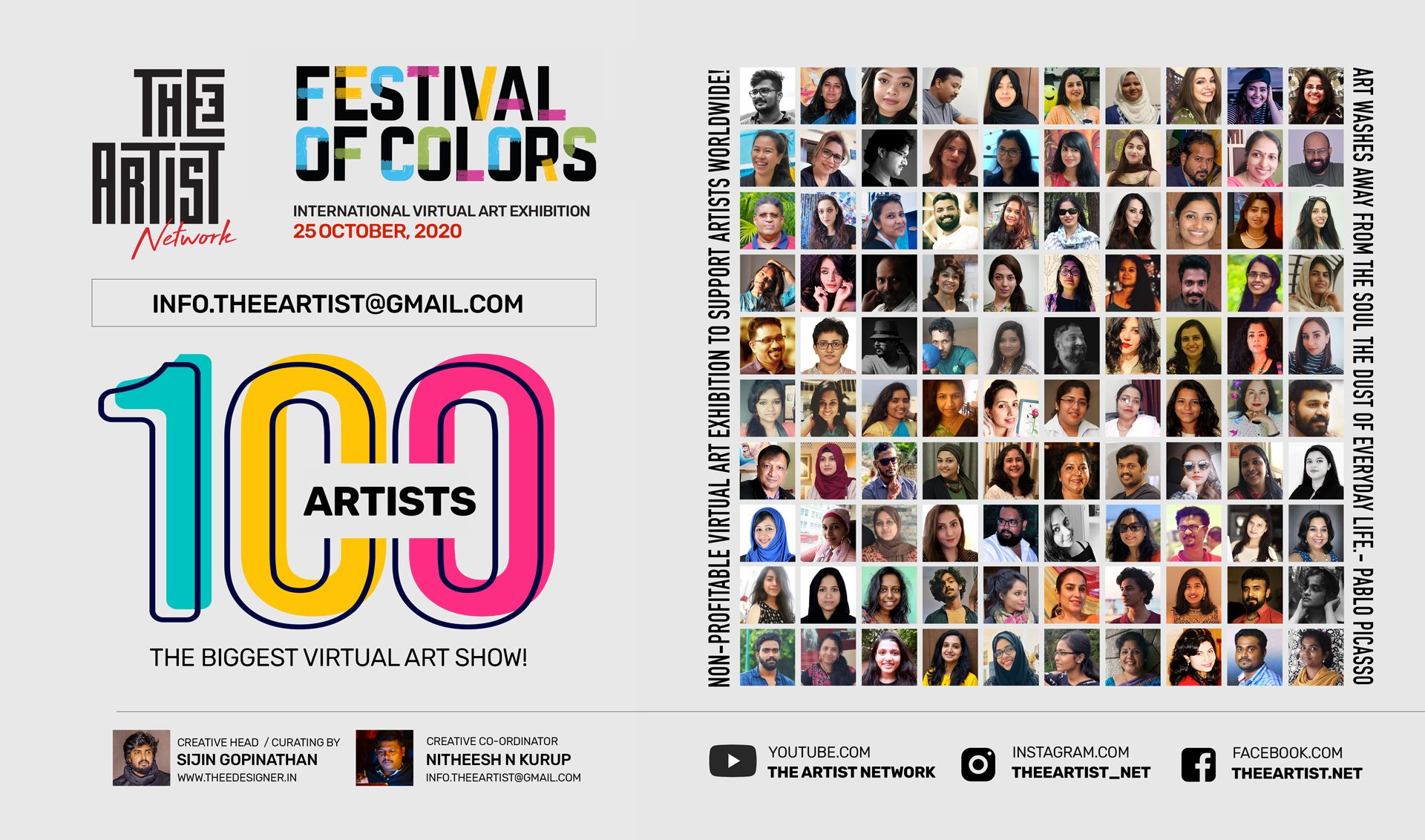 Festival Of Colors International Virtual Art Exhibition 2020