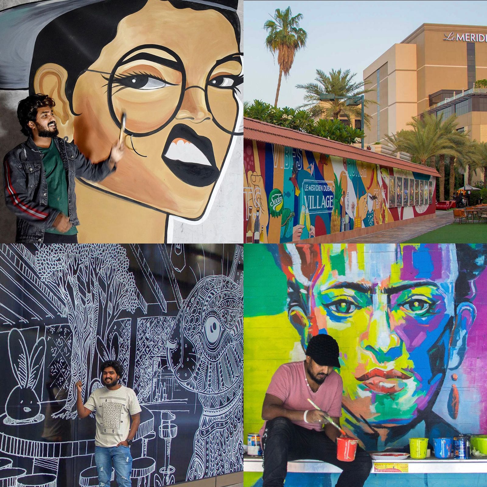 Indoor & Outdoor Art Projects by Sijin Gopinathan - Dubai, UAE