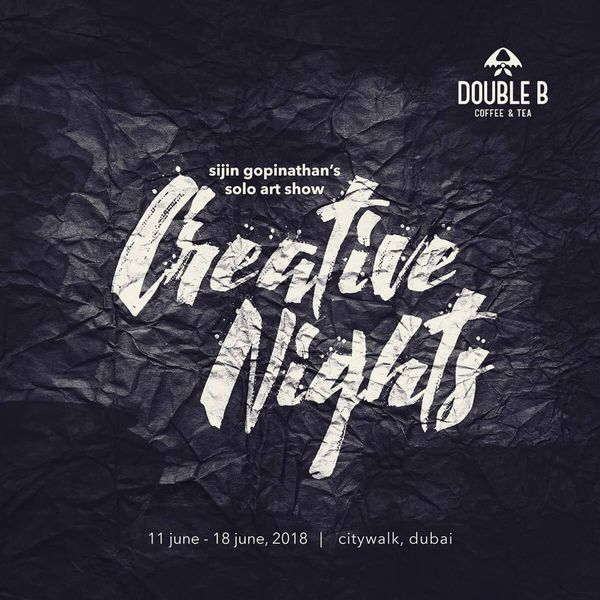 Creative Nights - Poster design