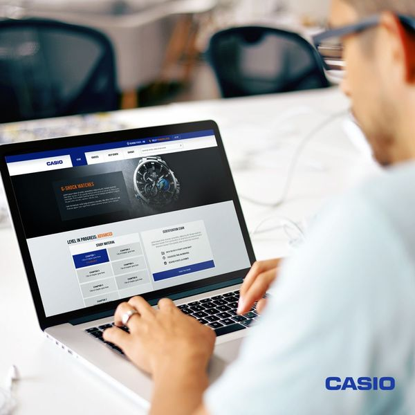 Casio Elearning Portal - Ui Design