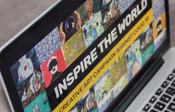 Inspire the World - Art Campaign by Thee Artist Network