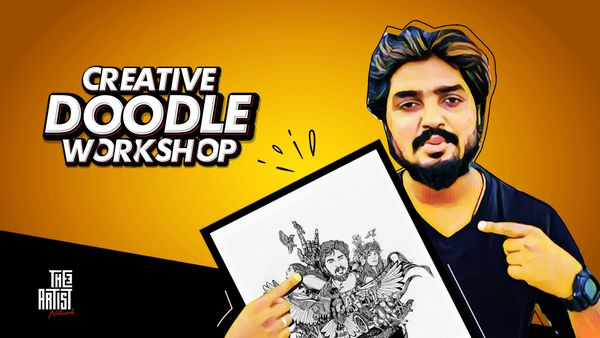 DOODLE ART WORKSOP WITH SIJIN GOPINATHAN